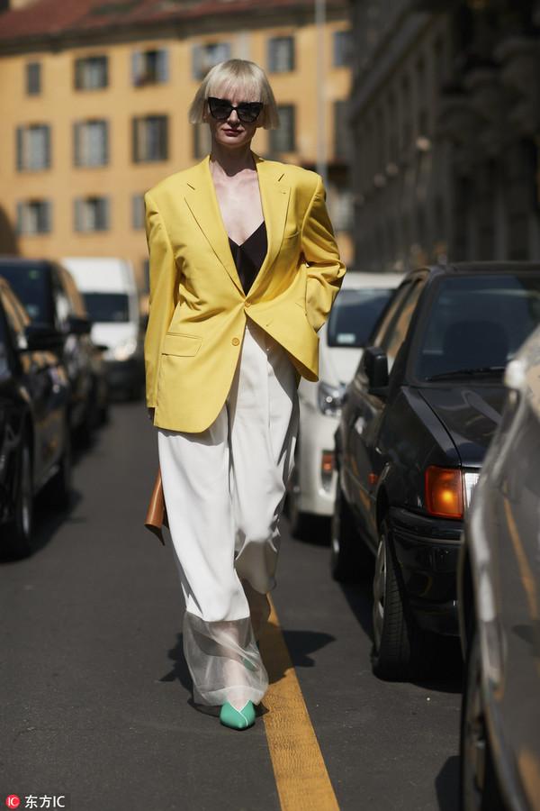 好好学一下米兰时装周收官这天潮人们的穿搭!