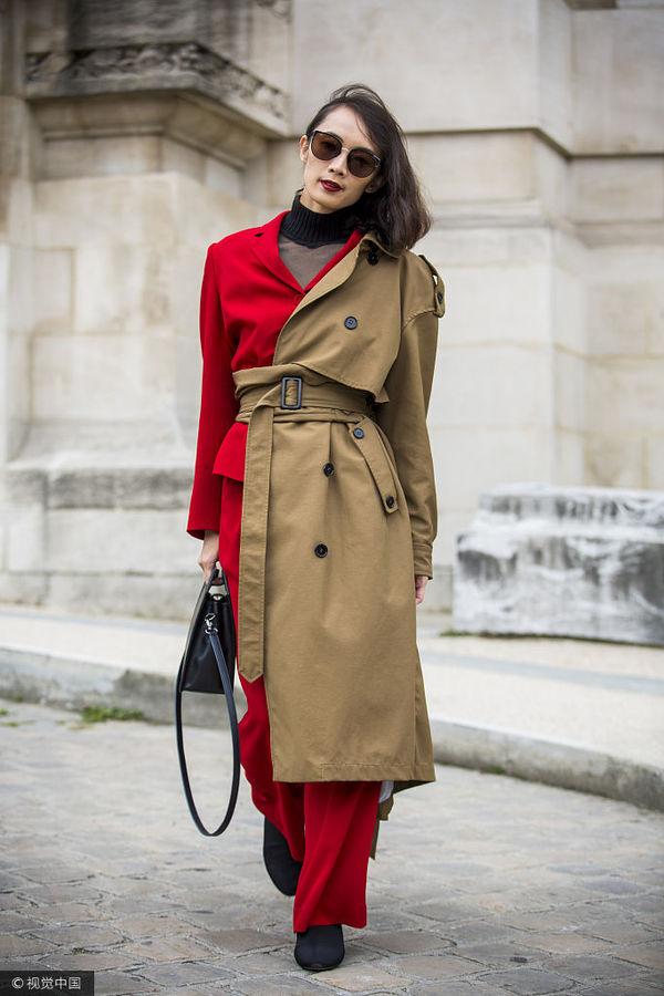 看看巴黎的时装精都怎么凹造型