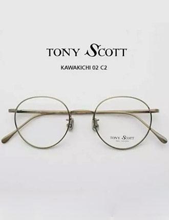tom ford金色边框眼镜